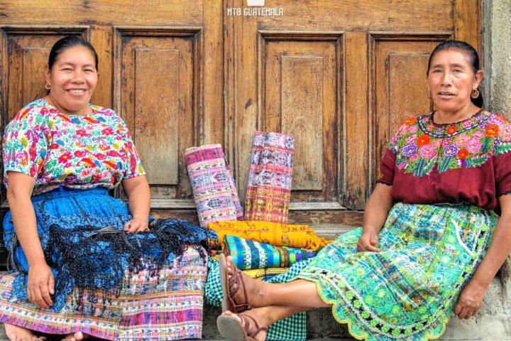 Vendors on the streets of Antigua Guatemala  , Guatemala