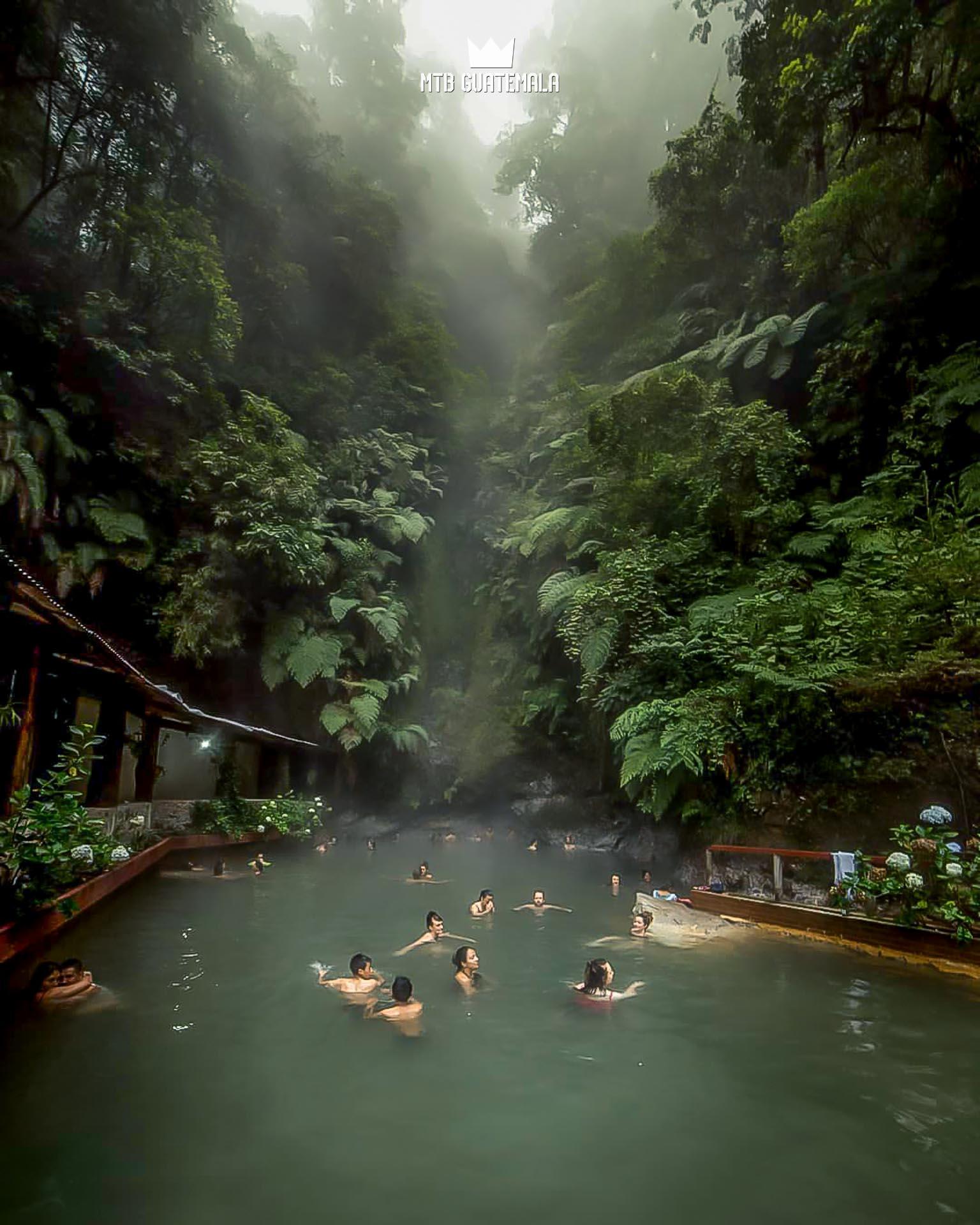 Fuentes Georginas.  Quetzaltenango, Guatemala