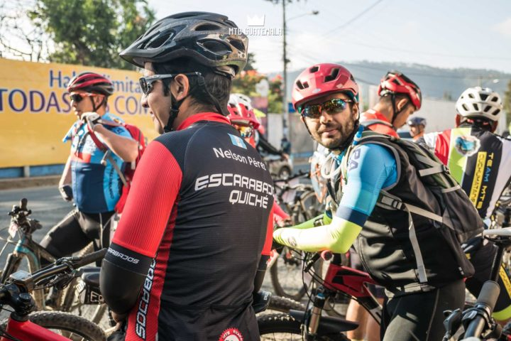 Riders prepare for the 9th edition of the Travesía de Los Cuchumatanes.  huehuetenango, Guatemala