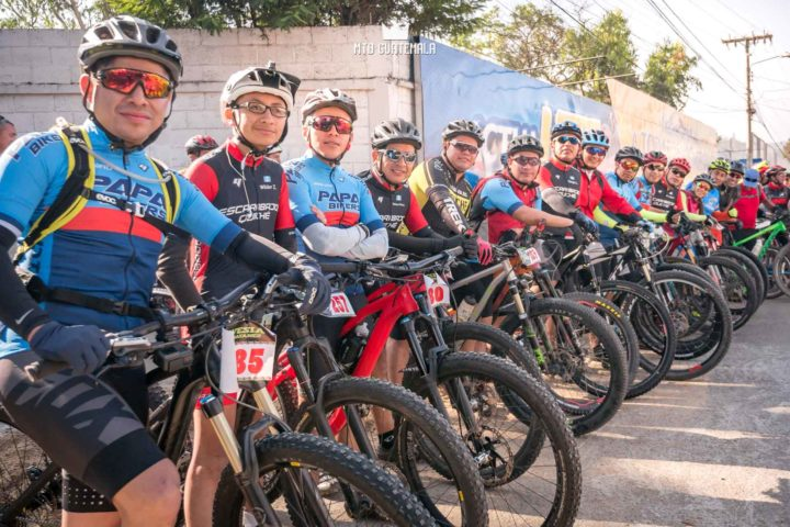 Over 300 riders were present for the 9th edition of the Travesía de Los Cuchumatanes.  huehuetenango, Guatemala