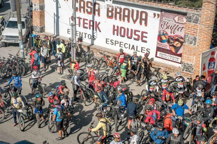 Over 300 riders were present for the 9th edition of the Travesía de Los Cuchumatanes. Zona 5 Huehuetenango, Guatemala