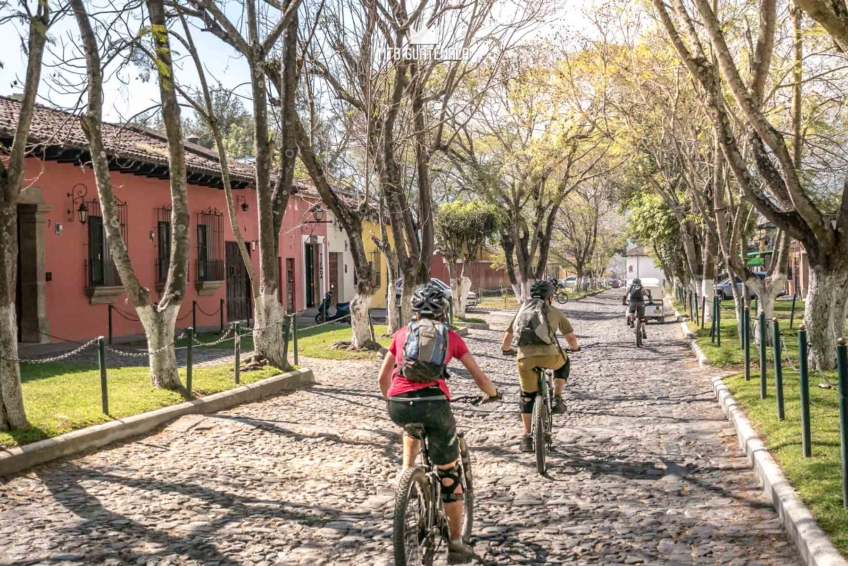 Mountain Biking in Antigua Guatemala Calle Interna Parque Cerro de La Cruz Sacatepéquez, Guatemala