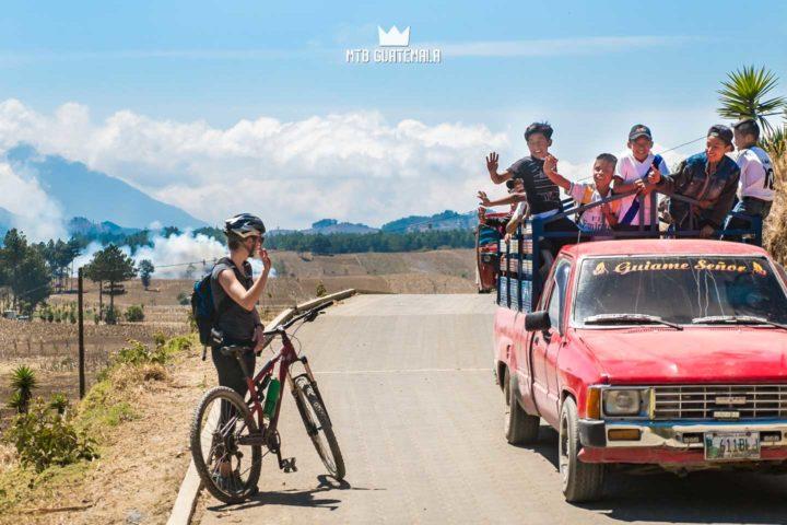 Always wave to the locals! Lake Atitlán Chimaltenango, Guatemala