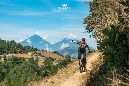 Rad volcanic views en route to Lake Atitlán.  chimaltenango, Guatemala