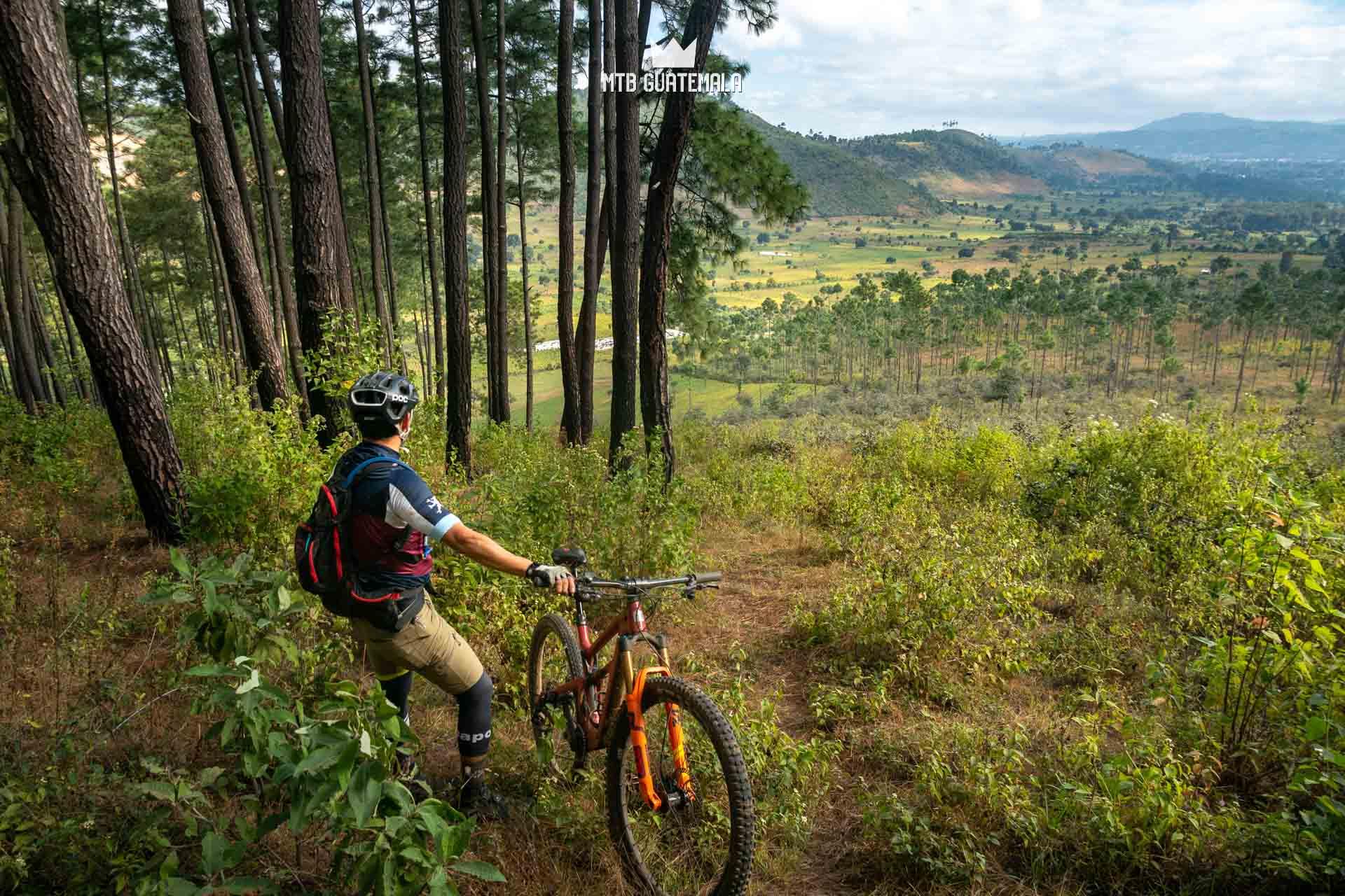 Valle Escondido Adventure MTB Tour.  Chimaltenango, Guatemala