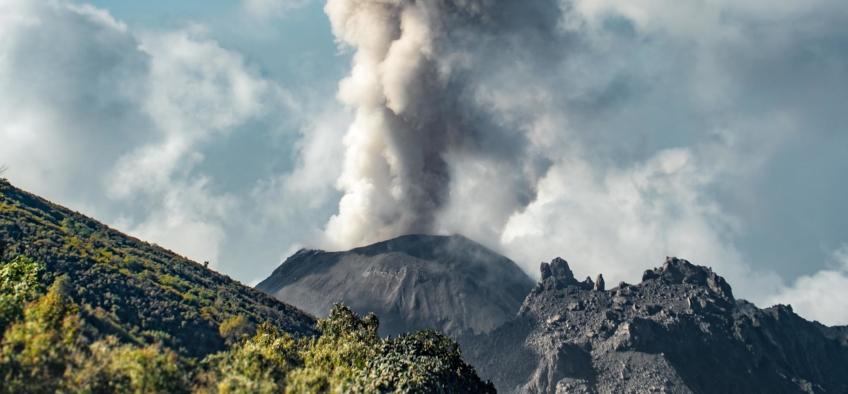 """ Photos from Expedition Volcanarchy: Fatbiking Guatemala's Highest Volcanoes. Volcán Santiaguito Quetzaltenango, Guatemala"