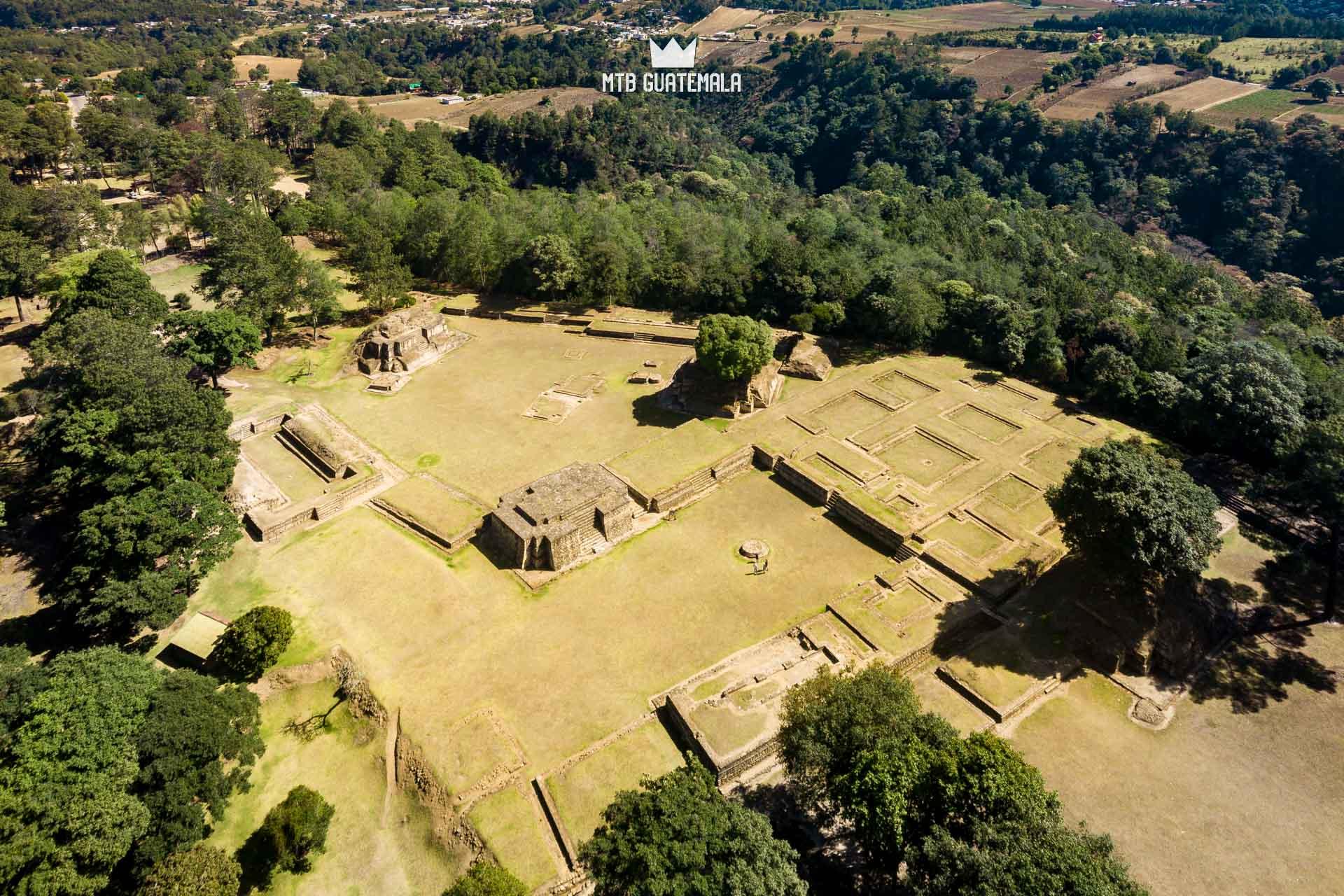 Ruinas de Iximché.