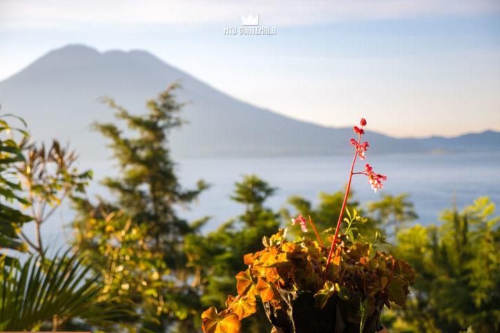 Sunrise at Casa del Mundo Lake Atitlán Sololá, Guatemala