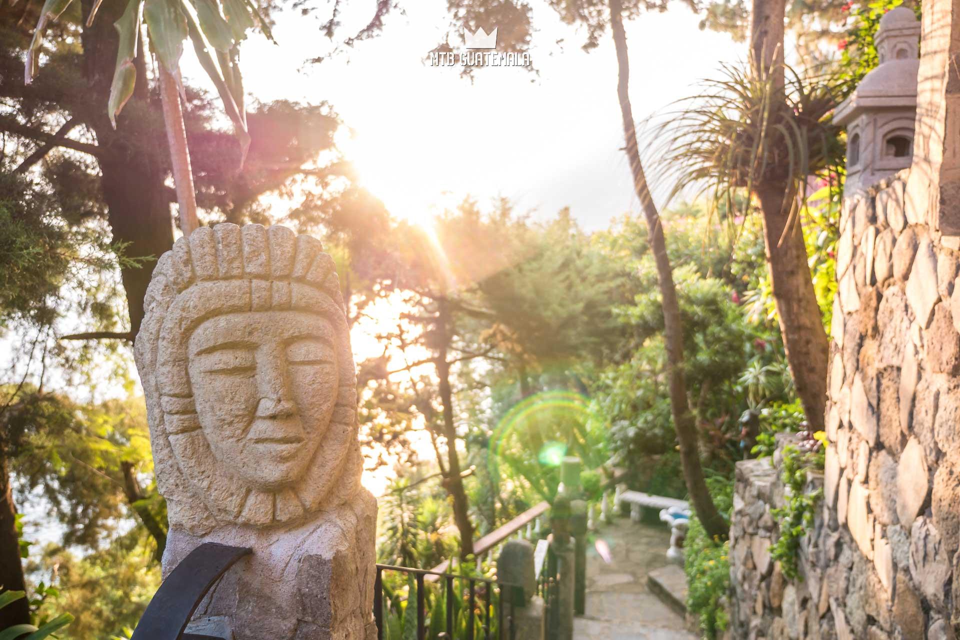Afternoon light at Casa Del Mundo Lake Atitlán Sololá, Guatemala