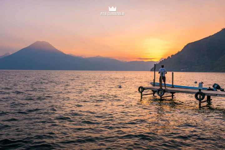 Taking time to watch the sunset at Lake Atitlán. Grab a beer and watch the colors fade. Lake Atitlán Sololá, Guatemala