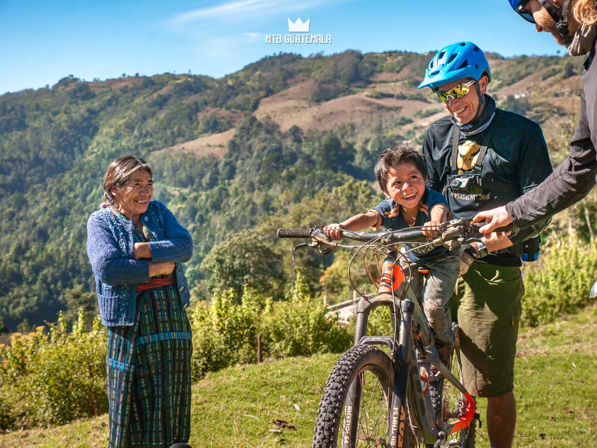 Mountain Biking at Lake Atitlán
