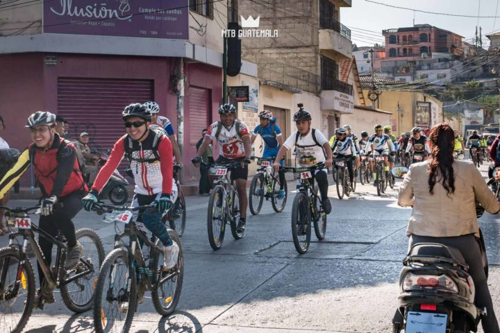 Over 300 riders take over the streets of Huehuetenango for the 9th for the 9th edition of the Travesía de Los Cuchumatanes. Hotel Casa Blanca Huehuetenango, Guatemala