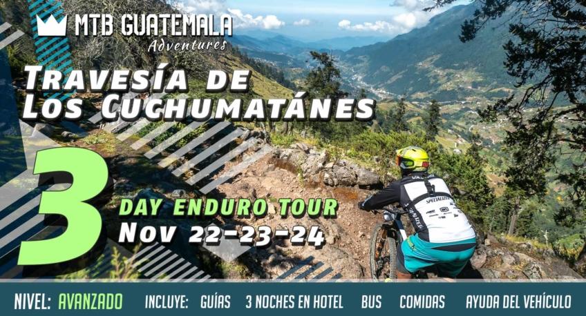 Mountain Bike Guatemala's three day enduro trip to the Todos Santos in the Cuchumatánes.