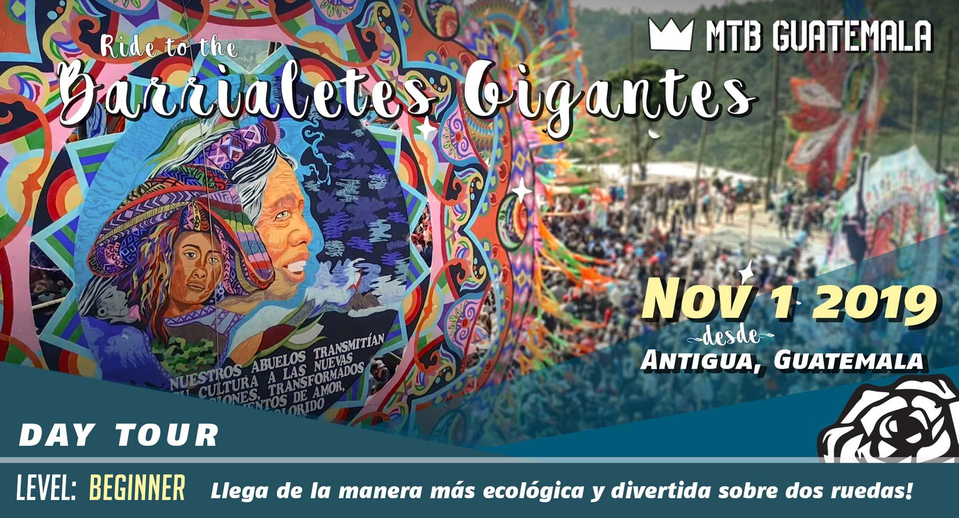 Mountain Bike to the Festival de Barriletes Gigantes Sumpango