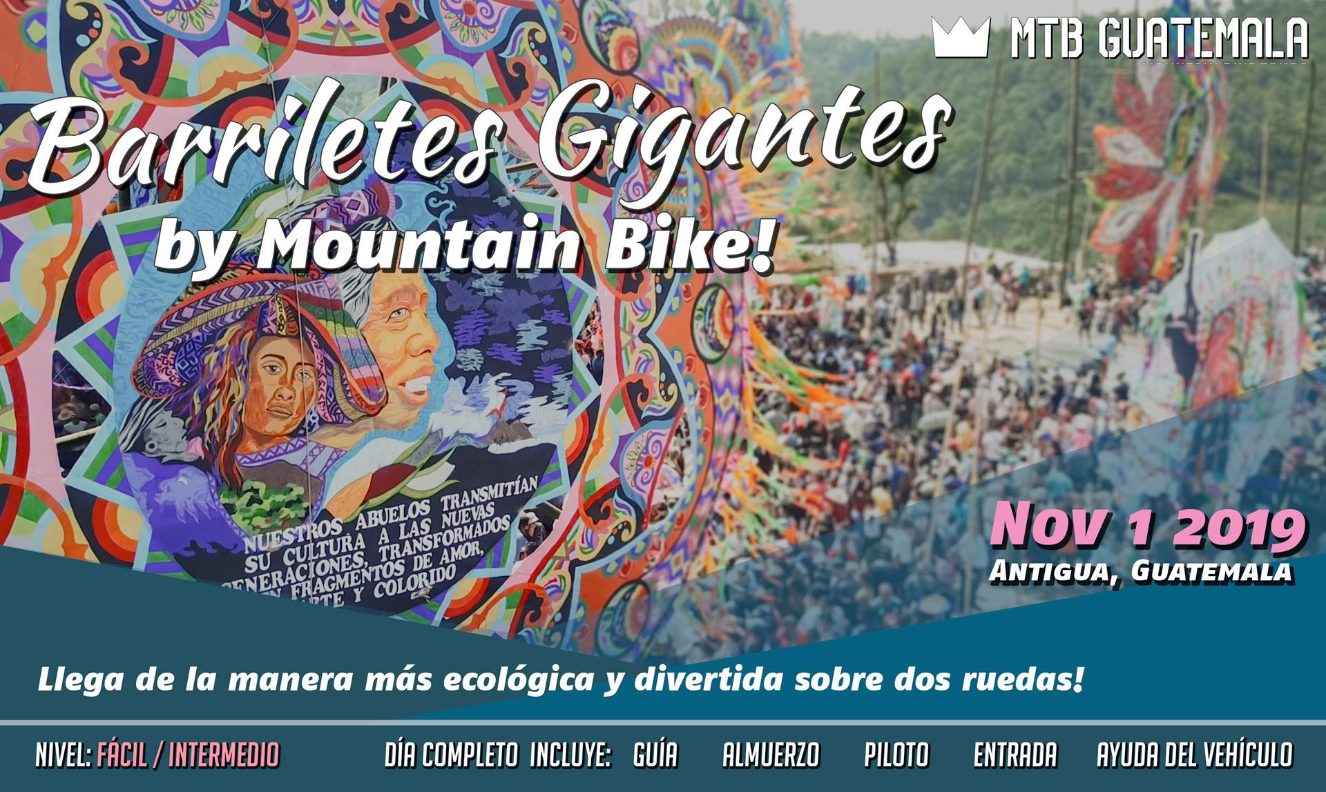 MTB Guatemala - Festival de Barriletes Gigantes