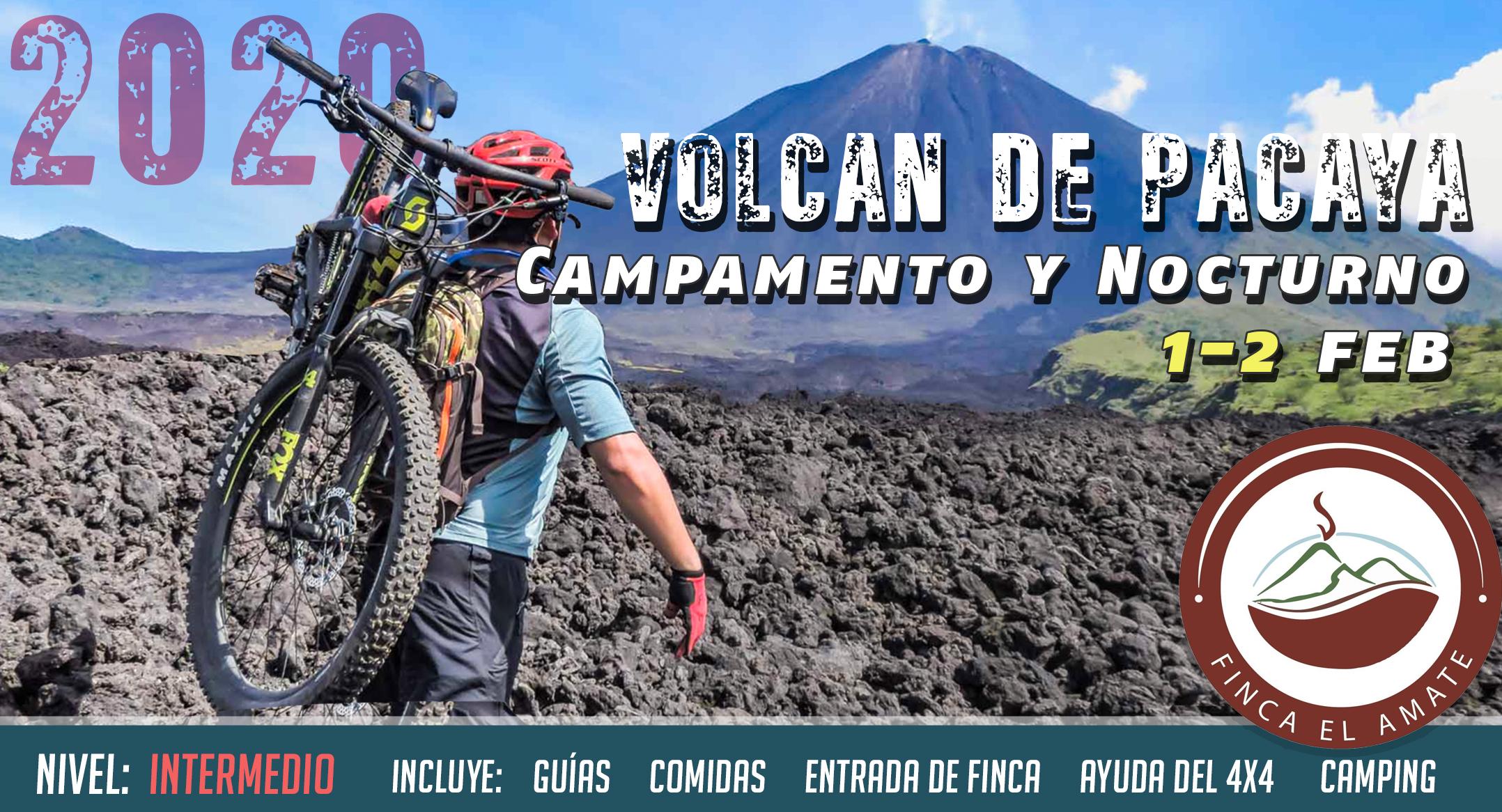 Pacaya Volcano Overnight Epic