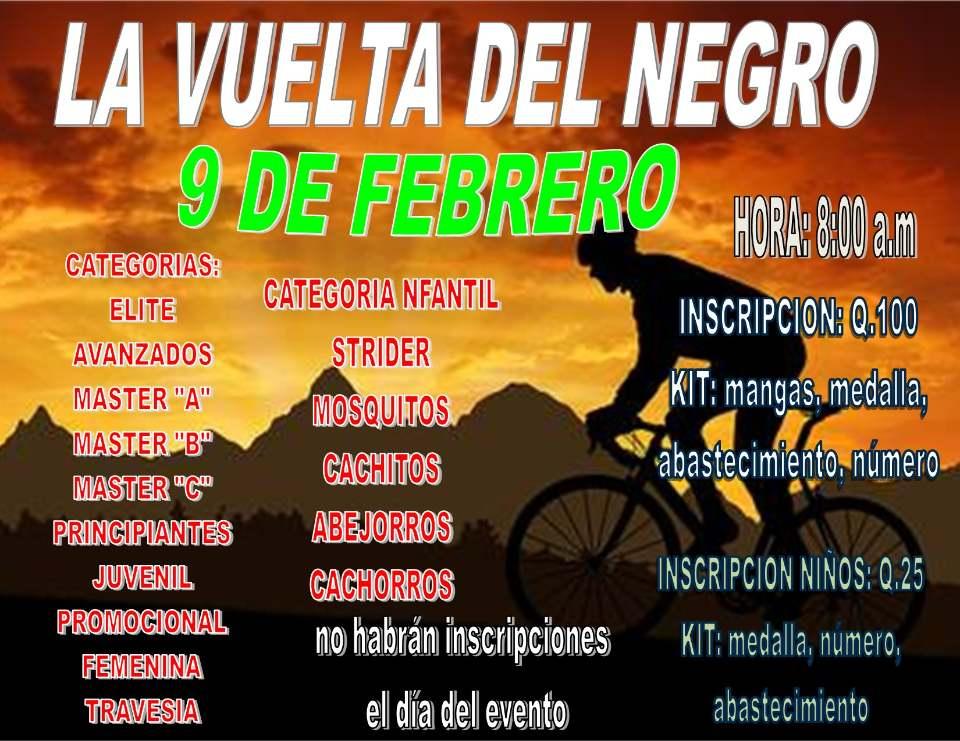 Bici Cach - La Vuelta de Negro