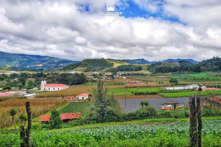 Colored Landscapes of Comalapa Guatemala