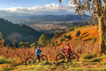 Mountain Biking in Comalapa