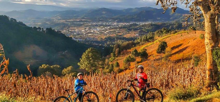 Mountain Biking in Comalapa