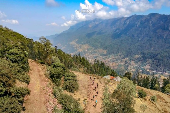 Mountain Biking in the Cuchumatánes Mountains Los Cuchumatánes Huehuetenango, Guatemala