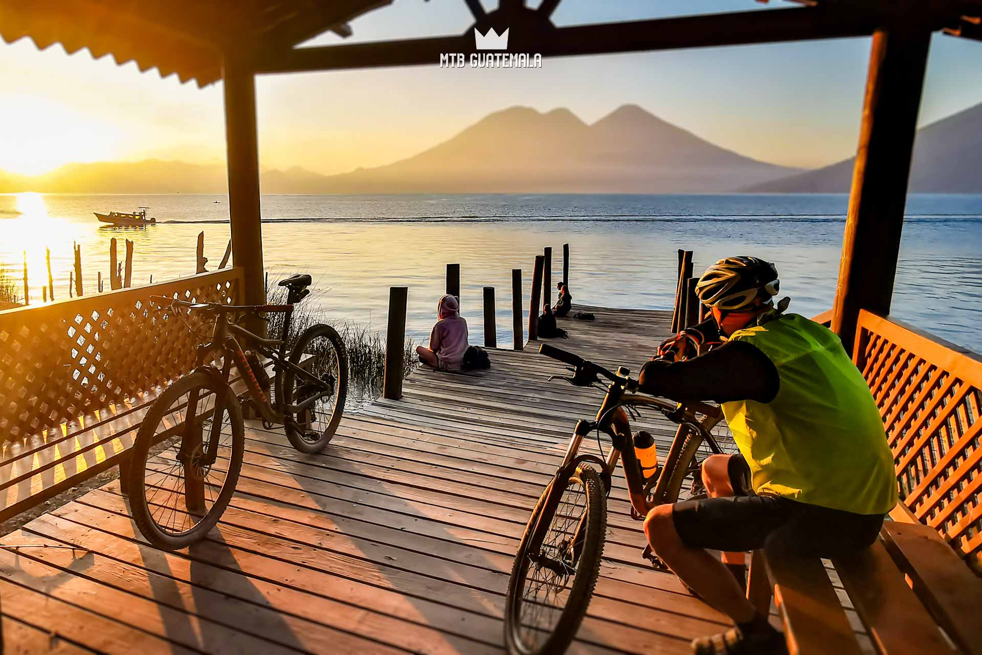 Mountain Biking at San Pedro La Laguna Lake Atitlán Sololá, Guatemala