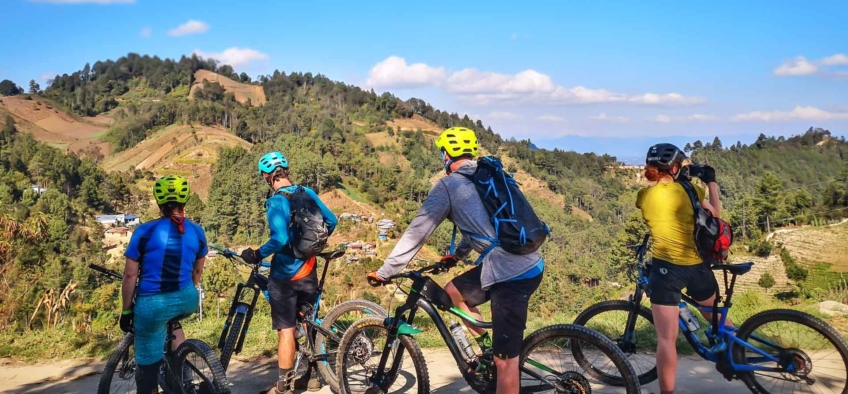 Mountain Biking in Quiché Guatemala