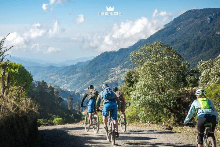 Mountain Biking in the Cuchumatánes - Dropping into the Valley Todos Santos Los Cuchumatánes Huehuetenango, Guatemala