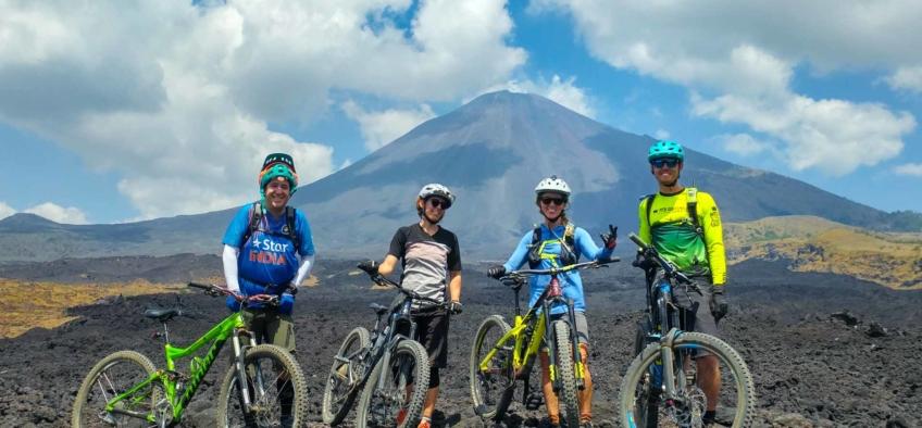 Mountain Bike Tours on Volcán de Pacaya Unnamed Road Escuintla, Guatemala