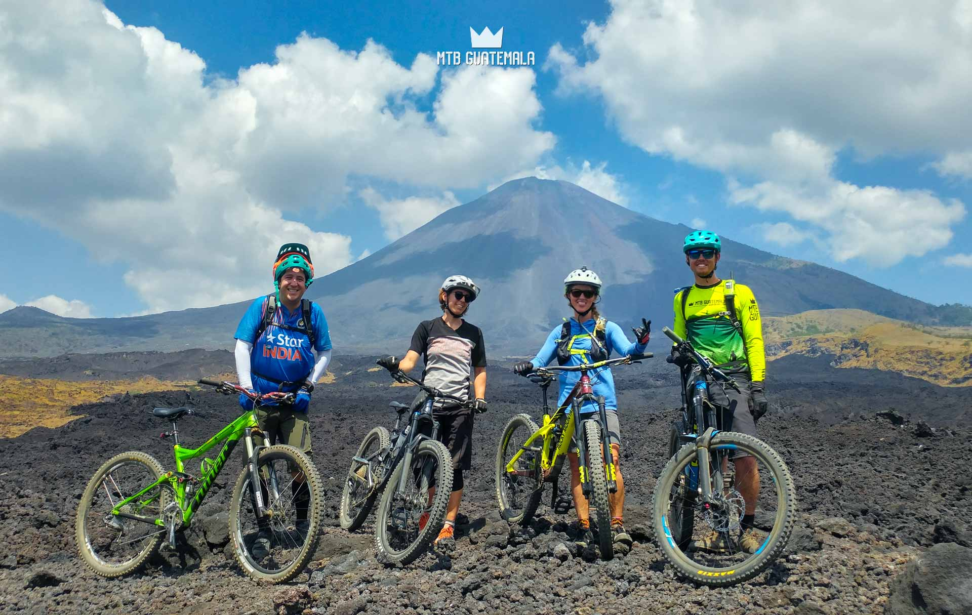 Mountain Bike Tours on Volcán de Pacaya Unnamed Road Escuintla, Guatemala
