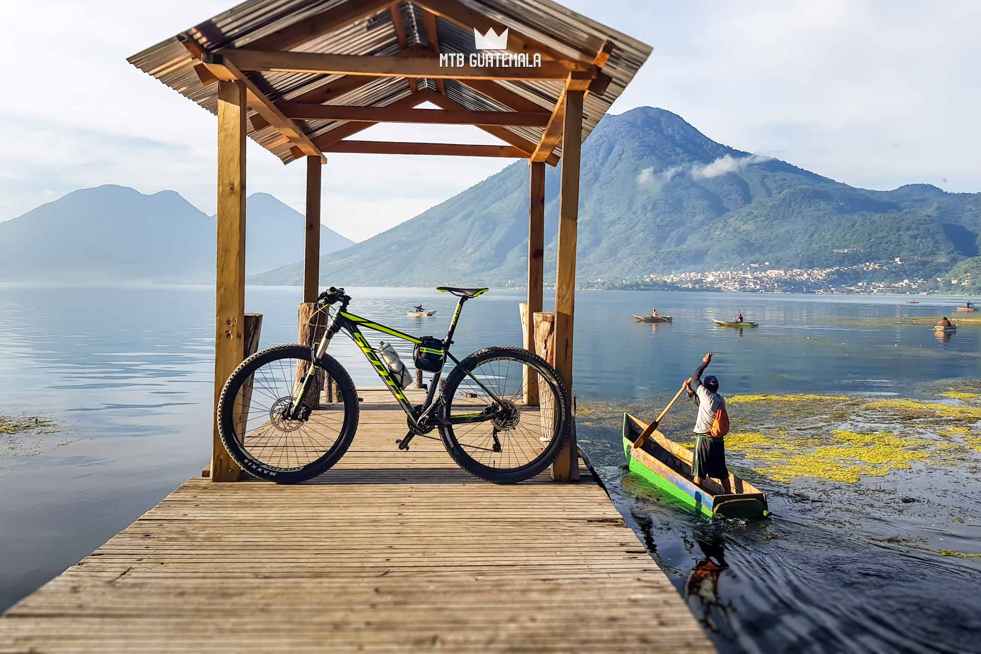 MTB Guatemala Mountain Bike Tours - Lake Atitlan