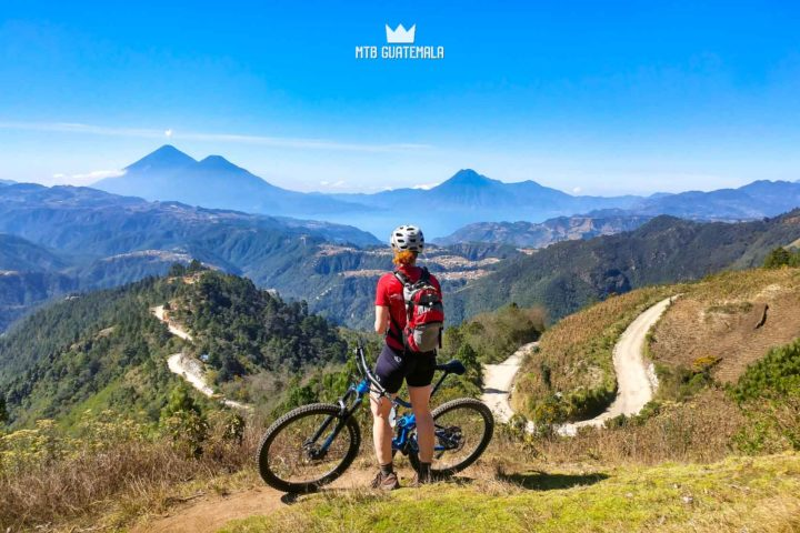 Mountain Biking at Lake Atitlán Lake Atitlán , Guatemala